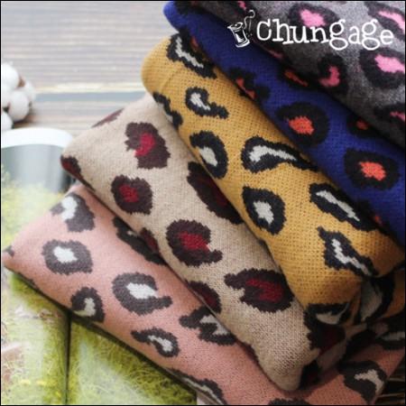 大幅 - ソフト起毛ニット)ヒョウヒョウ(5種)