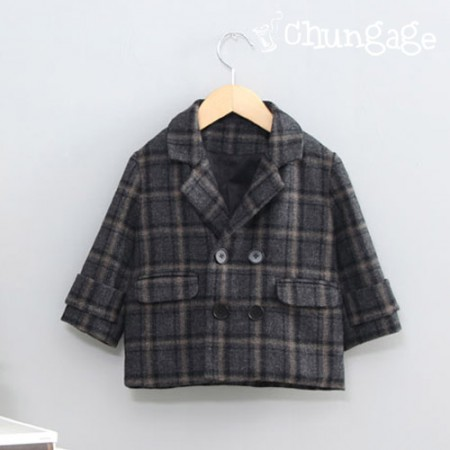 服のパターン子供のジャケット衣装パターン[P1155]