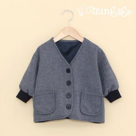 服のパターン子供のジャンパーの衣装パターン[P1147]