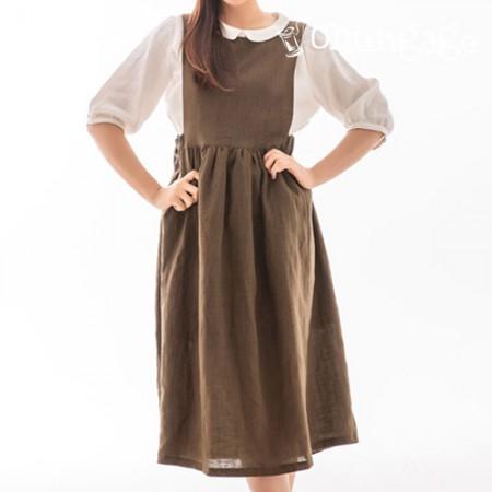 服のパターンの女性のワンピースの衣装パターン[P1141]