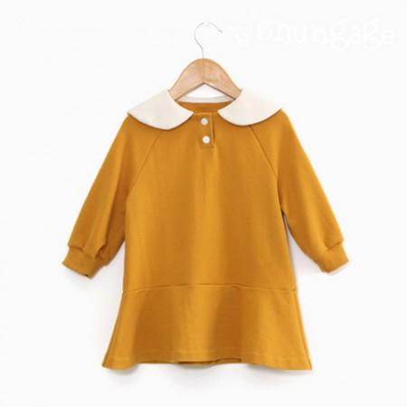 服のパターン子供ワンピース衣装パターン[P1159]