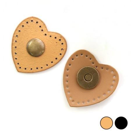 バッグあわせの装飾NCCハート斜視コミ(2種)