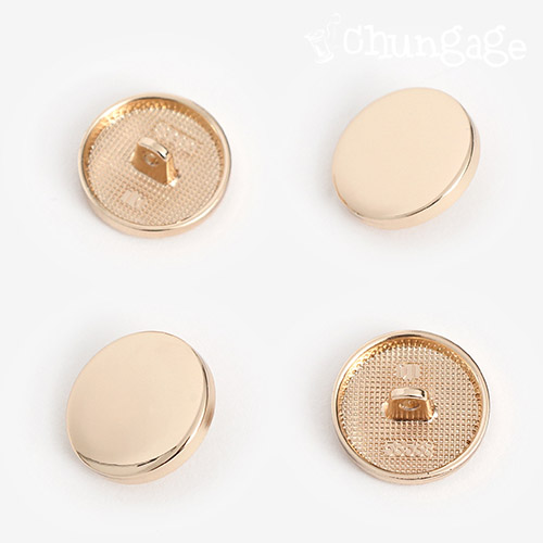 ポイント丸ボタン20mmゴールド[4個入]