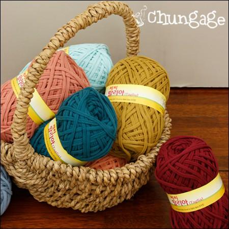 手編み糸ヤーンファブリックヤン娘リア(36種)