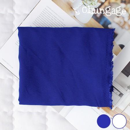 大幅 - ウォッシングレーヨン)青色ホワイトドリーム(2種)