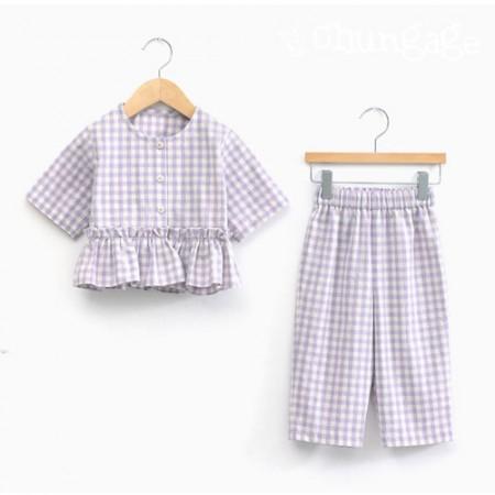 服のパターン子供のパジャマパジャマ衣装パターン[P1234]