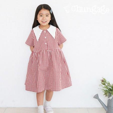 服のパターン子供ワンピース衣装パターン[P1238]