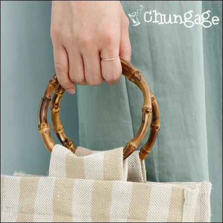 マクラメ材料バッグの持ち手竹ハンドルバンブーバッグのハンドル