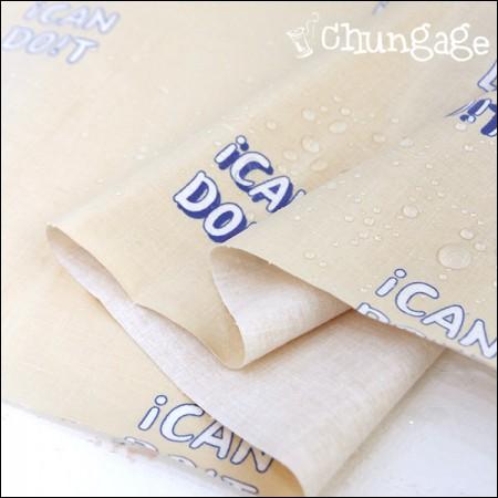 防水布、非毒性TPUラミネート布)子供の缶ヅイト