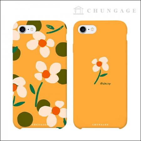 携帯電話ケースリトルデイジー(2種)CA033、iPhoneギャラクシー全機種フォンケース