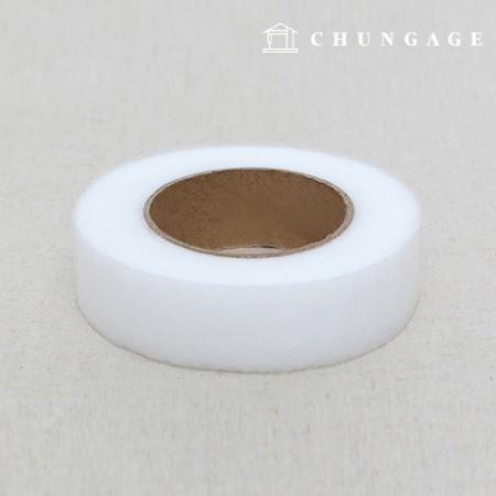 熱接着テープ両面接着力メルト芯2.4cm