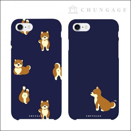 携帯電話ケースフレンドリードッグ(2種)CA043、iPhoneギャラクシー全機種フォンケース