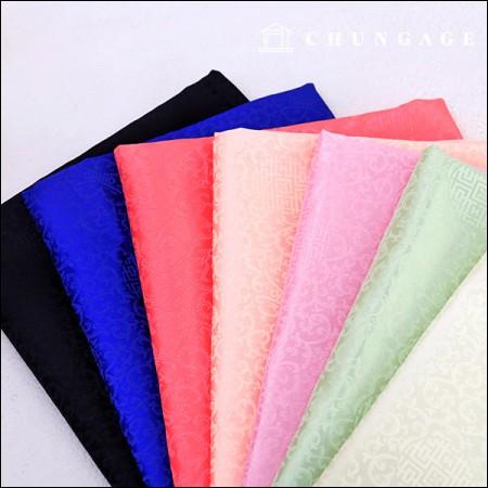 韓服の生地韓服の布伝統両端ナレ7種