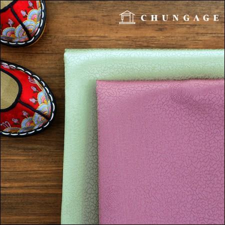 韓服の生地韓服の布伝統両端カラム2種