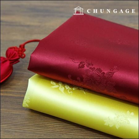 韓服の生地韓服の布伝統両端椿化2種
