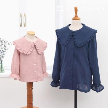 服のパターン子供ブラウスの衣装パターン[P1207]