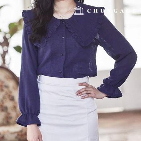 服のパターンの女性のブラウスの衣装パターン[P1211]