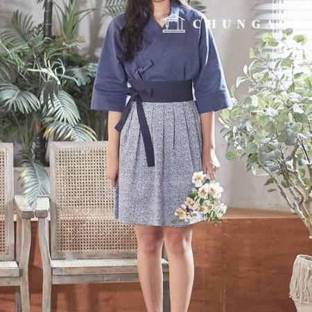 服のパターンの女性の韓服の衣装のパターン[P1269]
