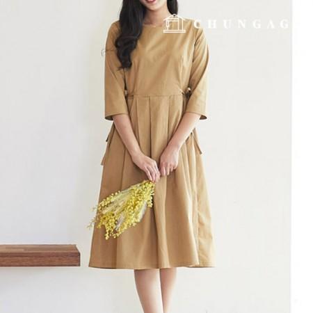 服のパターンの女性のワンピースの衣装パターン[P1306]