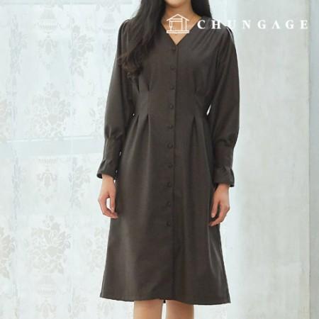 服のパターンの女性のワンピースの衣装パターン[P1330]