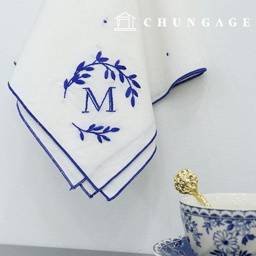 フランスの刺繍パッケージDIYキットマーレハンカチ[CH-513512]
