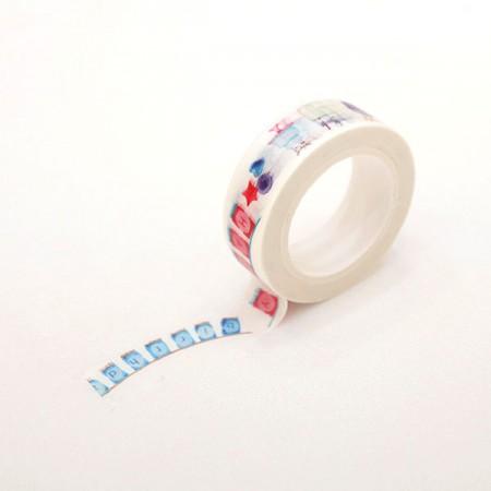 デザインペーパーマスキングテープハッピーバースデーガレンドゥTA093