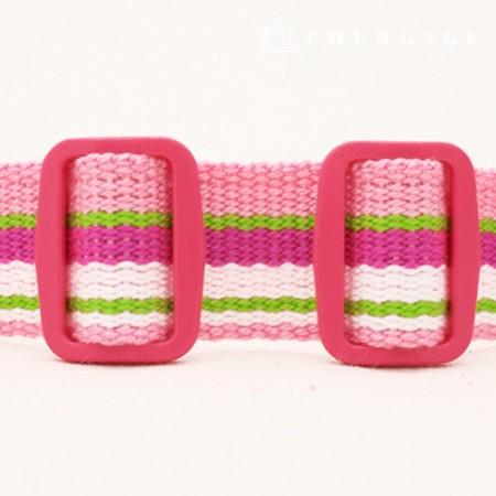 カラーポッププラスチックワルジャリング25mmたピンク