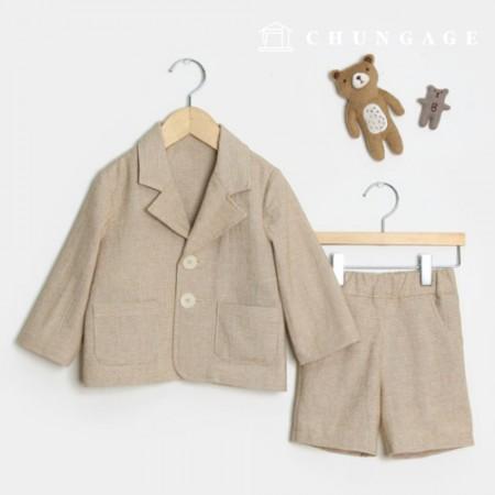 服のパターン子供上下セット衣装パターン[P1362]