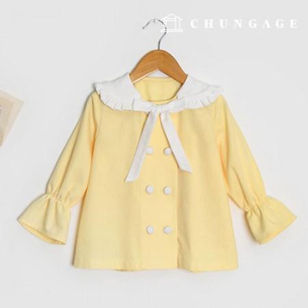 服のパターン子供ブラウスの衣装パターン[P1351]