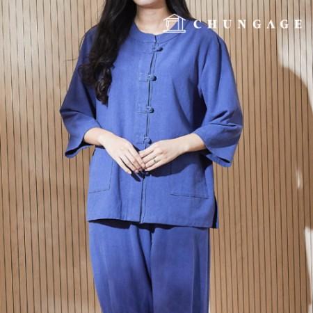 服のパターンの女性の生活韓服の衣装パターン[P1384]
