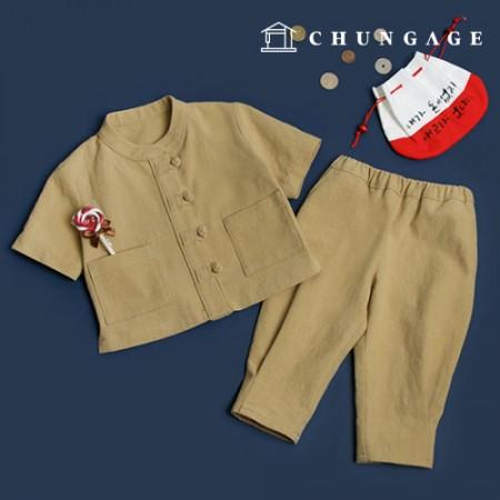 服のパターン子供の生活韓服衣装パターン[P1395]
