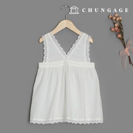 服のパターン子供重ね着ワンピース衣装パターン[P1401]
