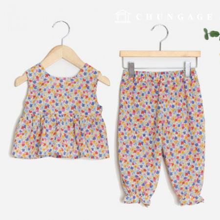 服のパターン子供上下セット衣装パターン[P1399]