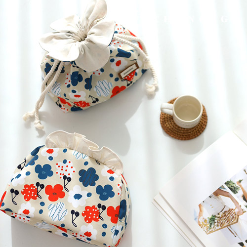 バッグの生地バッグかモンド・ド・フラワー防水ポリ大幅フラワー花柄061